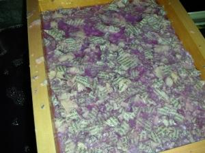 Freshly Pulled Paper