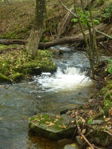 The flowing of awen and the river