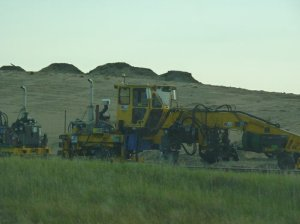 Fracking equipment in ND