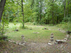 Stone Circle in Michigan