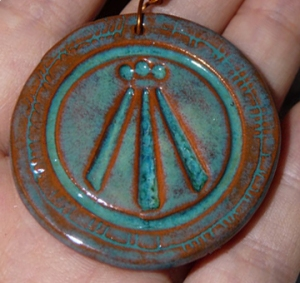 Awen pendant I made
