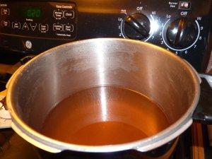 Finishing syrup