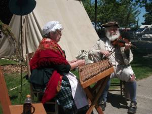 Playing music from the 1750's