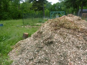 Mulch Mountain!