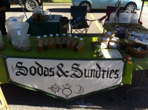 Farmer's market booth - Soda and Sundries is inherently generalized :P