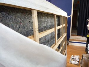Box spring deconstsruction