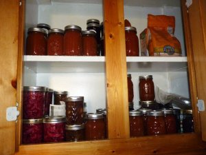 More jars--this is before I've canned apples!