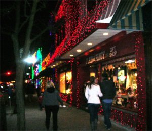 Holiday Shopping Spree--the lights are pretty, but not all that glitters is gold
