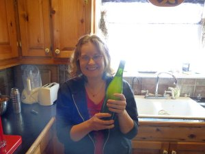 Yay! My first bottle of wine!