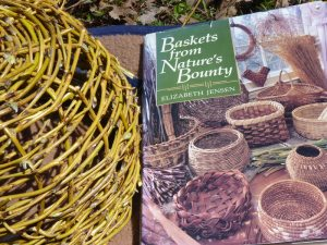 Basket and book