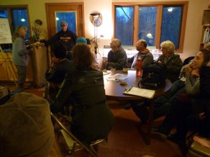 Getting together as a community to plan for the future