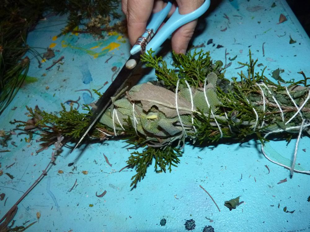 burning herbs | The Druid's Garden