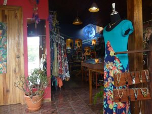 "Inside ""Luna Azul"" in Monteverde - Another fantastic art shop promoting local art"