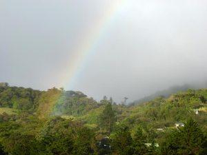 Rainbow in Monteverde