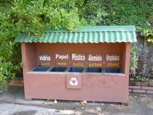 Recycling Bins - All over Costa Rica, this is what you see!