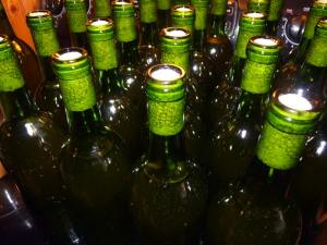 Bottled Dandelion Wine!