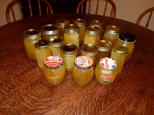 Bottled honey!