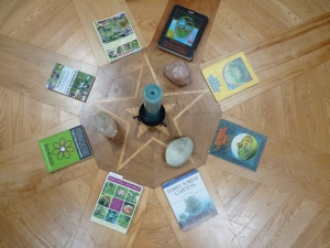 A variety of permaculture books