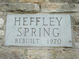 Heffley Spring Sign