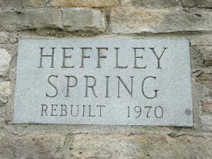 Heffley Spring Sign
