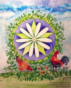 Spirit of Chickweed Painting