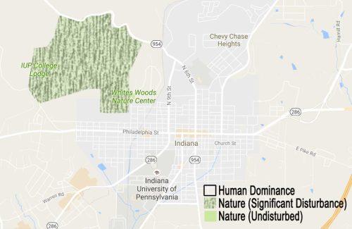 Human Disturbance Map