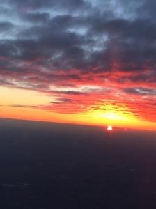 Serenading the setting sun....