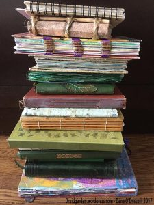 Stack of some of my journals....