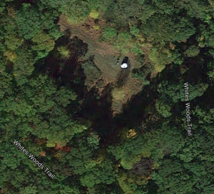 Gas wells in the forest