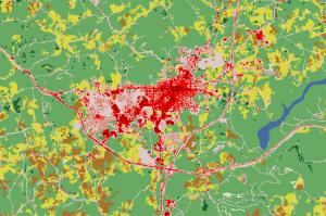 GIS Land Cover Use, Indiana PA