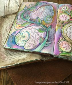 Art journals for processing and healing