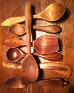 An assortment of spoons and knives