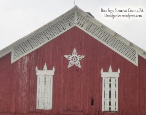 Magical Barn sign in Somerset County