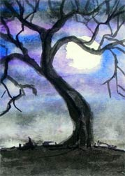 Watercolor Tree 1 (Circa 2006)