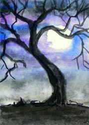 Watercolor Tree 1 (Circa 2006)