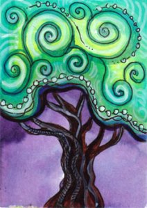Whimsical Tree, Circa 2010