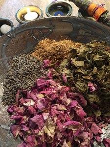 A blend of herbs....