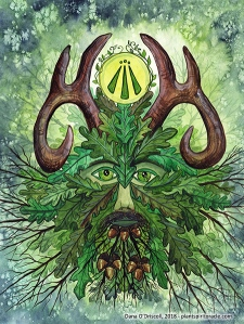 Spirit of the Oak from the Plant Spirit Oracle