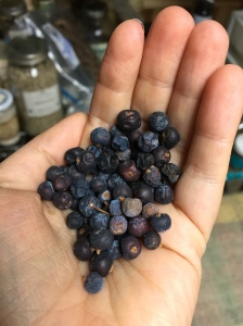 Dried delightful juniper berries!