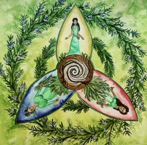 Rosemary from the Plant Spirit Oracle