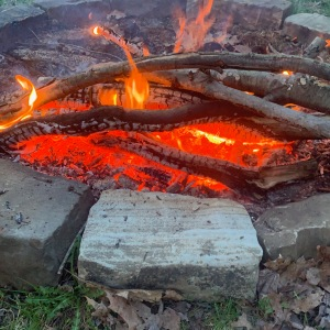 Another naturally created sacred fire