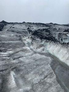 Meltwater on the Sólheimajökull glacier