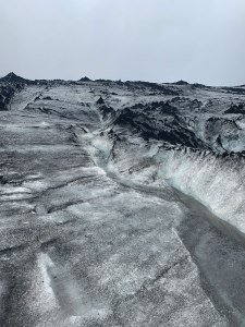Meltwater on the Sólheimajökull glacier