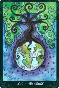 The World from the Tarot of Trees